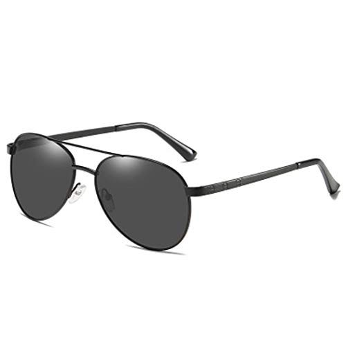 YWYU Neue polarisierte Sonnenbrillen, Herrensonnenbrillen, strahlungsfeste TAC-Gläser, stilvolle Retro-Sonnenbrillen mit Blendschutz für Fahrten mit Reisegruppen (Color : D)