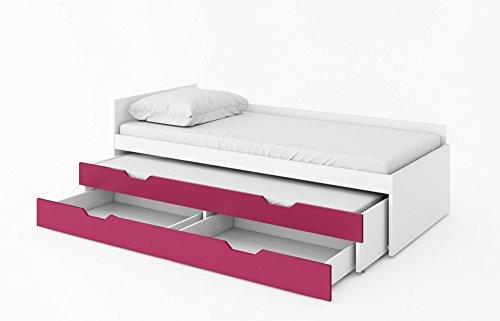 ... Bett Doppelbett Ausziehbett YETI Mit Matratzen ...