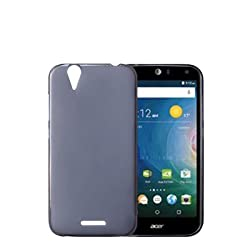 GoRogue Acer Liquid Z630 and Z630S , Armor Pudding TPU 360 Back Cover [Fossil Grey]