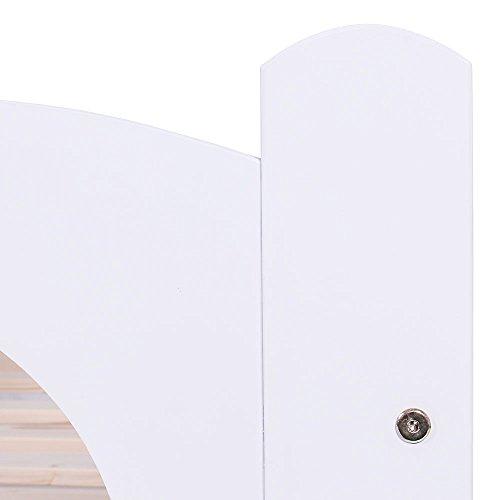KAGU Chrisi Kinderbett Jugendbett Juniorbett Bett (140x70 cm oder 160x80 cm). Kiefernholz Massivholz inkl. Matratze und Schublade. - 7