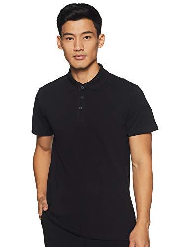 adidas Herren Essentials Basic Poloshirt, Black, XL -