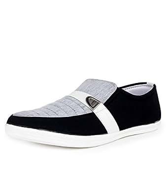 Beonza Men's Grey Casual Shoes -6