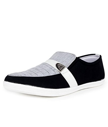 Beonza Men's Grey Casual Loafers - 8
