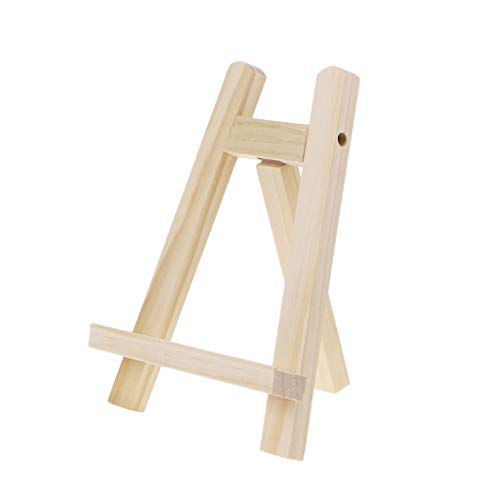 XXguang Mini-Staffelei aus Holz, für Party-Dekoration, 15 x 20 cm