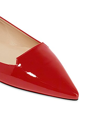 Elashe - Chaussures Femme - Ballerines - Ballerines Femme - Classic Flats Red