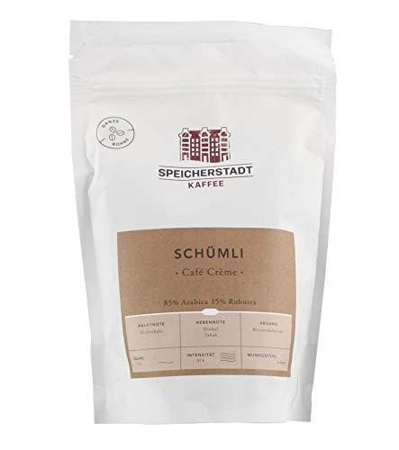 Speicherstadt - Schümli Café Crème ganze Bohne - 250g