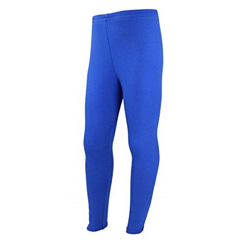 89d8ab498fe5bf TupTam Mädchen Leggings Lange Leggins Blickdicht Baumwolle , Farbe:  Kornblumenblau, Größe: 140