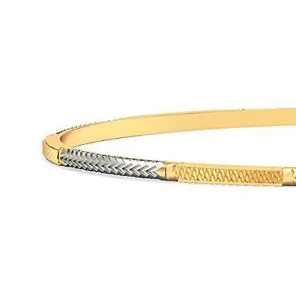 BlueStone 18k (750) Yellow Gold Divyashree Bangle