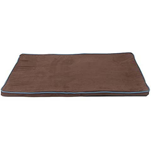 Dreamtime PC1358UP Large Memory Foam Pet Mattress Brown with Tan