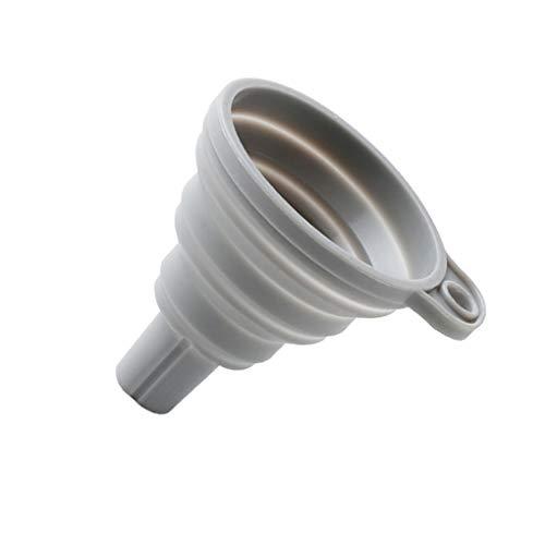 Zerama Food Grade Silikon Faltbare Trichter zusammenklappbarer Flüssigkeitstransfer Hopper-Küche-Werkzeug 8x7.5cm -