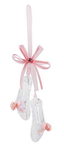 Rosy Pink Ballett Schuhe Hänger Weihnachten Ornament -