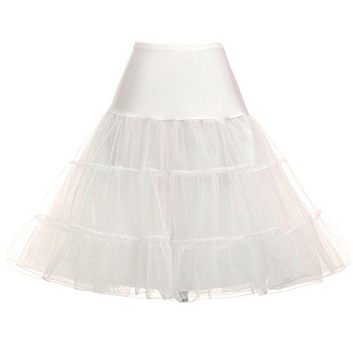 1950 vintage Petticoat Reifrock Unterrock Underskirt Crinoline für festliches kleid 2X CL8922-9,C1,Beige