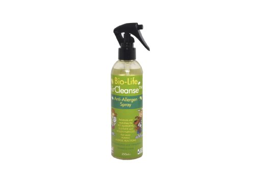 AirCleanseTM Allergen Neutraliser - clears indoor air of pollen, pet and dustmite allergens by at least 75%
