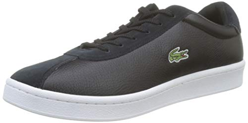 Lacoste Herren Masters 119 2 SMA Sneaker, Schwarz (Blk/Wht 312), 43 EU -