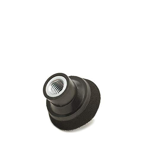 (50mm) Klett Stützteller 5/20,3cm-11Gewinde, (10mm Schaum Layer) mittlere Dichte Haken und Loop Polieren Pad, Schleifen Pad ()