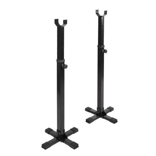 Physionics®-htal03-mensola per pesi-altezza regolabile tra 89/144cm