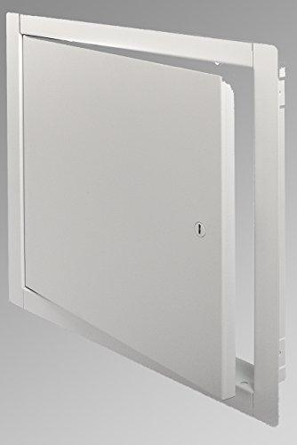 Flush Stahl Tür (Acudor ed-2002Flush Zugang Tür 45,7x 45,7cm weiß)