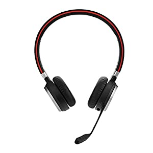 Jabra 52 x 213 x 187 mm Evolve 65 Wireless Bluetooth Stereo headset - optimised for Microsoft Lync, Black