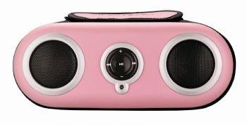 SDI iHome 2go iH19 Soundsystem für iPod und MP3-Player pink (Docking Ipod Station Ihome)