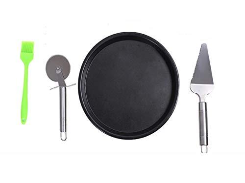 Backblech, Pizza-Backblech, Backblech für Haushalt, Kochplatte 8 Zoll, schwarz 6 inches schwarz -