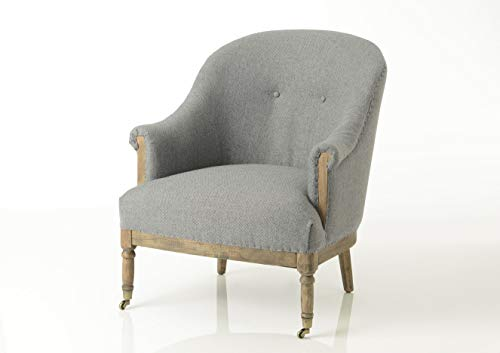 Adept Home Fauteuil Gris, Collection Tradition