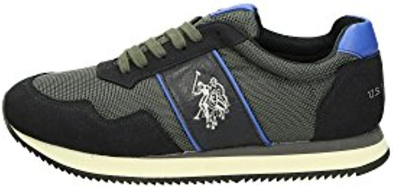 U.S. Polo Assn. NOBIL4044S6/NH2 Sneakers Herren Gewebe Dunkelblau 43