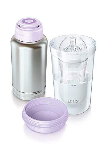 Philips Avent SCF256/00 Scaldabiberon Termico, fino a 180 ml di latte in soli 2.5 minuti