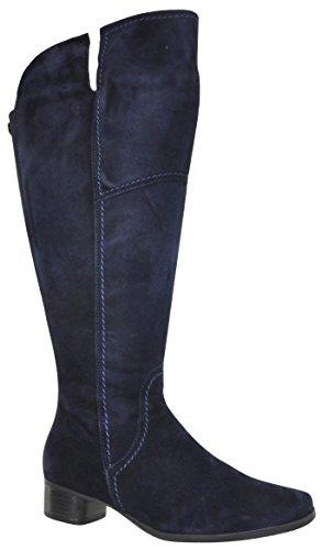 JJ Footwear Damen Stiefel Suede Verona XL Ozean Goat Suede