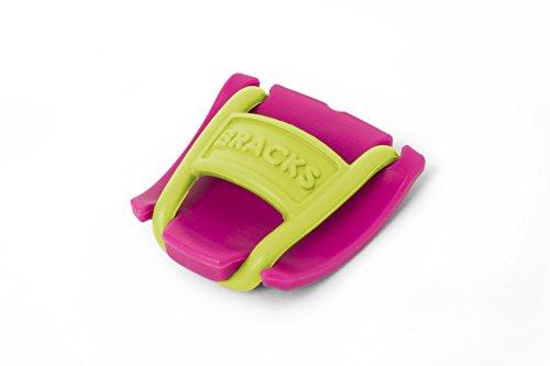 Bracks - Cordones de zapatos adultos unisex, color Rosa, talla Talla Unica