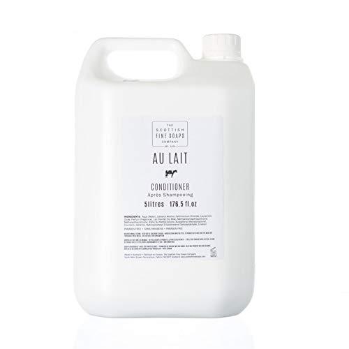 Scottish Fine Soaps Bulk 5L Commercial Au Lait Hair Conditioner Refill -