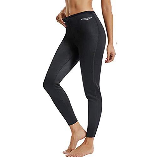 NOVECASA Pantalones Sauna Fitness Mujer Neopreno Sauna