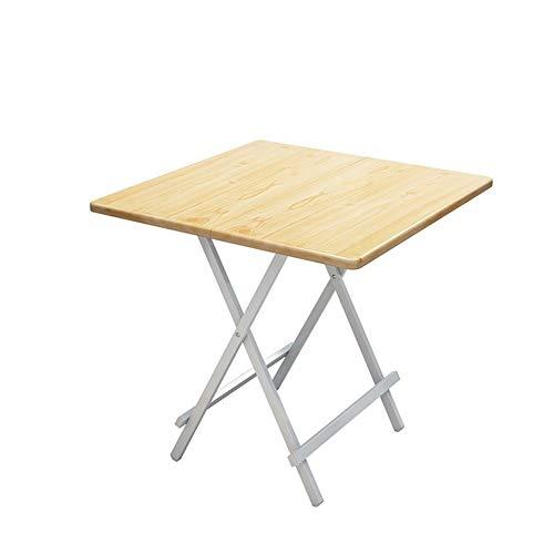 YY&L Table De Collation Pliante Portable Multi-Fonctions Les Repas en Plein Air Table De Camping Table De Conférence Intérieure Enfants 3 Tailles Parfaites,Bamboo,60 * 60 * 55Cm
