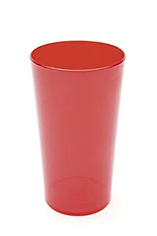 Harfield 28cl Polycarbonate Tumbler (Translucent Red, 280ml) Pack of 4