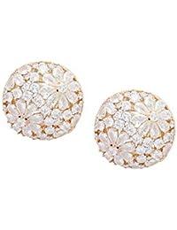 Shaze Daisy Dome Earring For Women|Earring For Girl