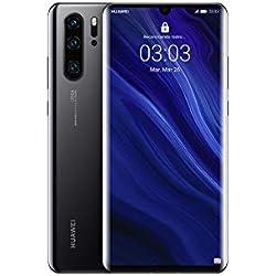 "Huawei P30 Pro - Smartphone de 6.47"" (Kirin 980 Octa-Core de 2.6GHz, RAM de 8 GB, Memoria interna de 256 GB, cámara de 40 MP, Android) Color Negro [Versión española]"