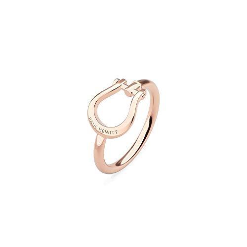 PAUL HEWITT Ring Damen Shackle - Damenring vergoldet, Damen Ring Rosegold in Schäkel-Form