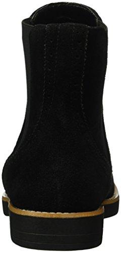 Buffalo Damen B013e-56 P880a Imi Suede Chelsea Boots Schwarz (Black 01)