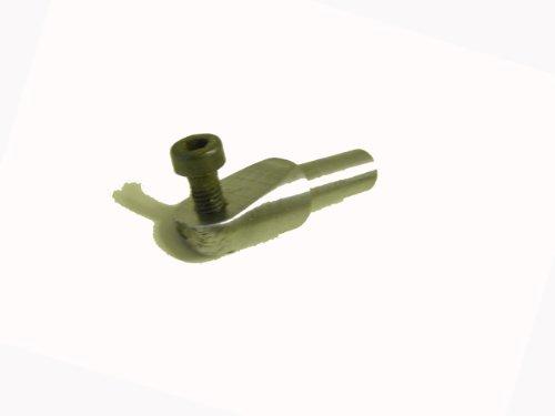 Wiedemann Adapter Ø 13mm für Schaberplatten, einzusetzen in Wiedemann Universalhalterstangen, Drechsler drechseln, Woodturner Woodturning