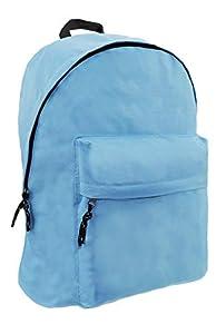 FACTORYCR- Mochila Blue Omega 32x42x16 cms Must Escolar Juvenil Azul, Color (72643)