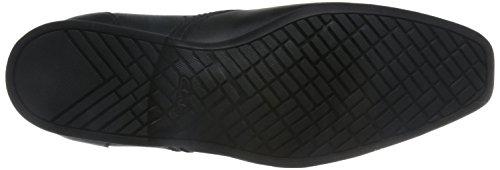 Clarks Habillé Homme Chaussures Forbes Step En Cuir Noir Noir