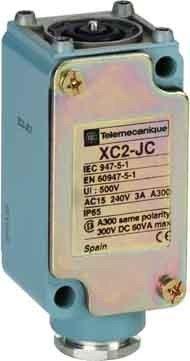 TELEMECANIQUE Sensori zc2jc1limite Interruttore Corpo senza display, in metallo, 1asta, 1C/O Contatto, 40mm di larghezza x altezza 81mm x 41mm di profonditÃ