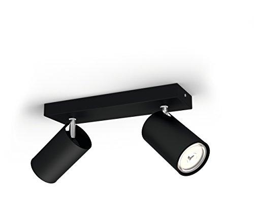 Philips Lighting myLiving Foco eniluminación interior GU10, negro