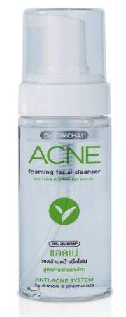 Dr. Somchai Anti Akne Schäumende Gesichtsreiniger Wash Anti Akne mit Green Tee Öl - Salicylsäure Akne-behandlung