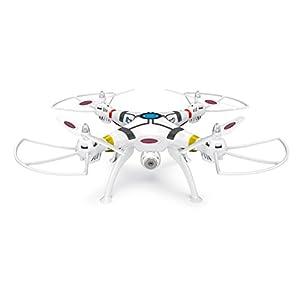 Jamara 422013 – Payload Altitude HD Wifi FPV AHP Plus Quadrocopter, weiß