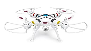 Jamara 422 013 - Carga útil Altitud HD WiFi FPV AHP + Plus Quadrocopter, Blanco