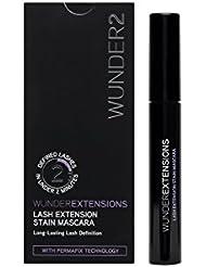 WUNDER2 WunderExtensions Lash Extension & Stain Mascara - für ausdrucksstarke und wasserfeste Wimpern