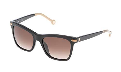Carolina Herrera Damen SHE60354700X Sonnenbrille, Schwarz (Negro), 54