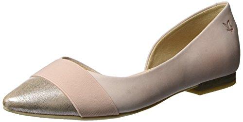 Caprice Damen 22110 Geschlossene Sandalen mit Keilabsatz, Rosa (ROSE NU.MULTI), 37 EU (4 UK)