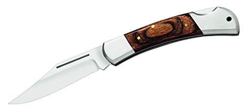 Herbertz Taschenmesser, Heftlänge 10 cm, Stahl 420 Messer, grau, M