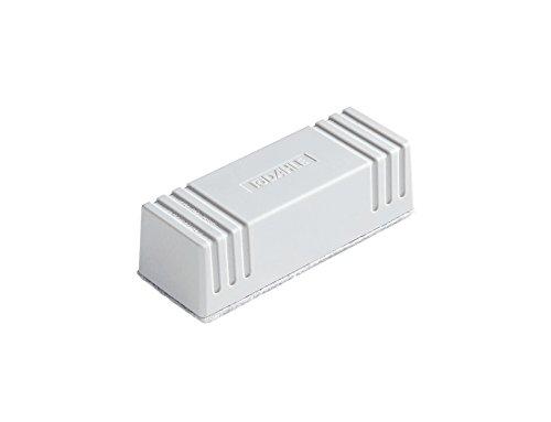 Dahle Whiteboard Löscher (Magnetischer Wischer für Trockenreinigung auf vielen Oberflächen, inkl. Filzstreifen) grau